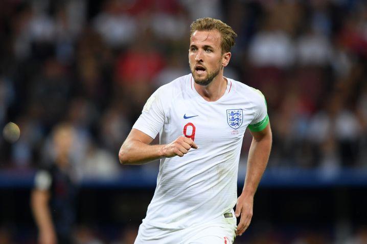 Englands Superstar Harry Kane