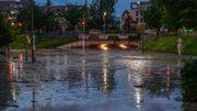 Unwetter in Süddeutschland – Überschwemmungen und umgestürzte Bäume