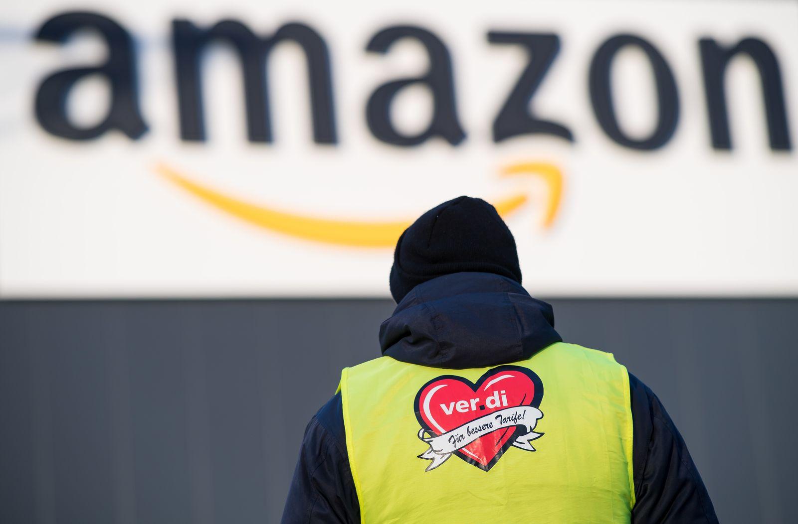 Jobprotokoll/ Amazon Verdi Protest