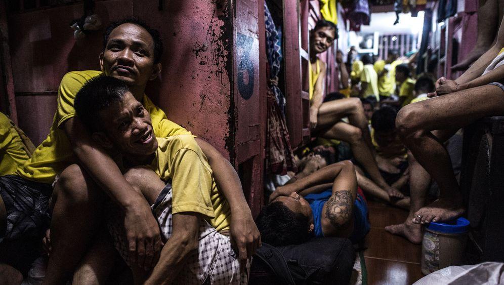 Gefängnis in Manila: Tausende auf engstem Raum