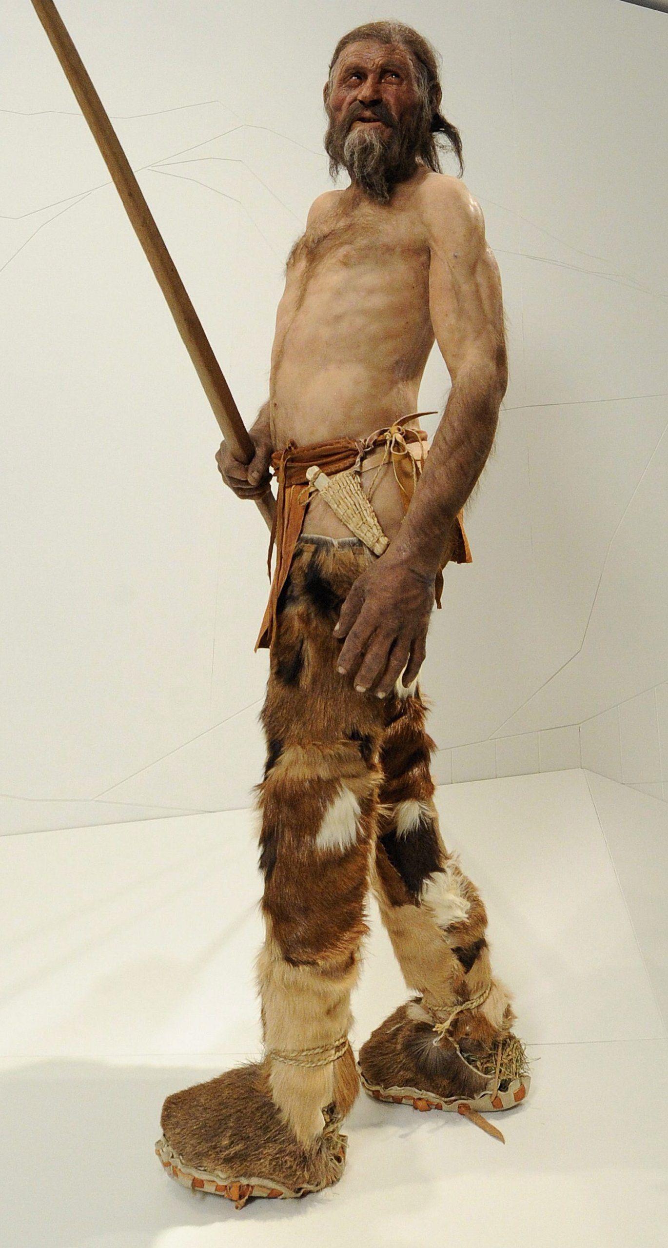 Ötzi/ Kleidung