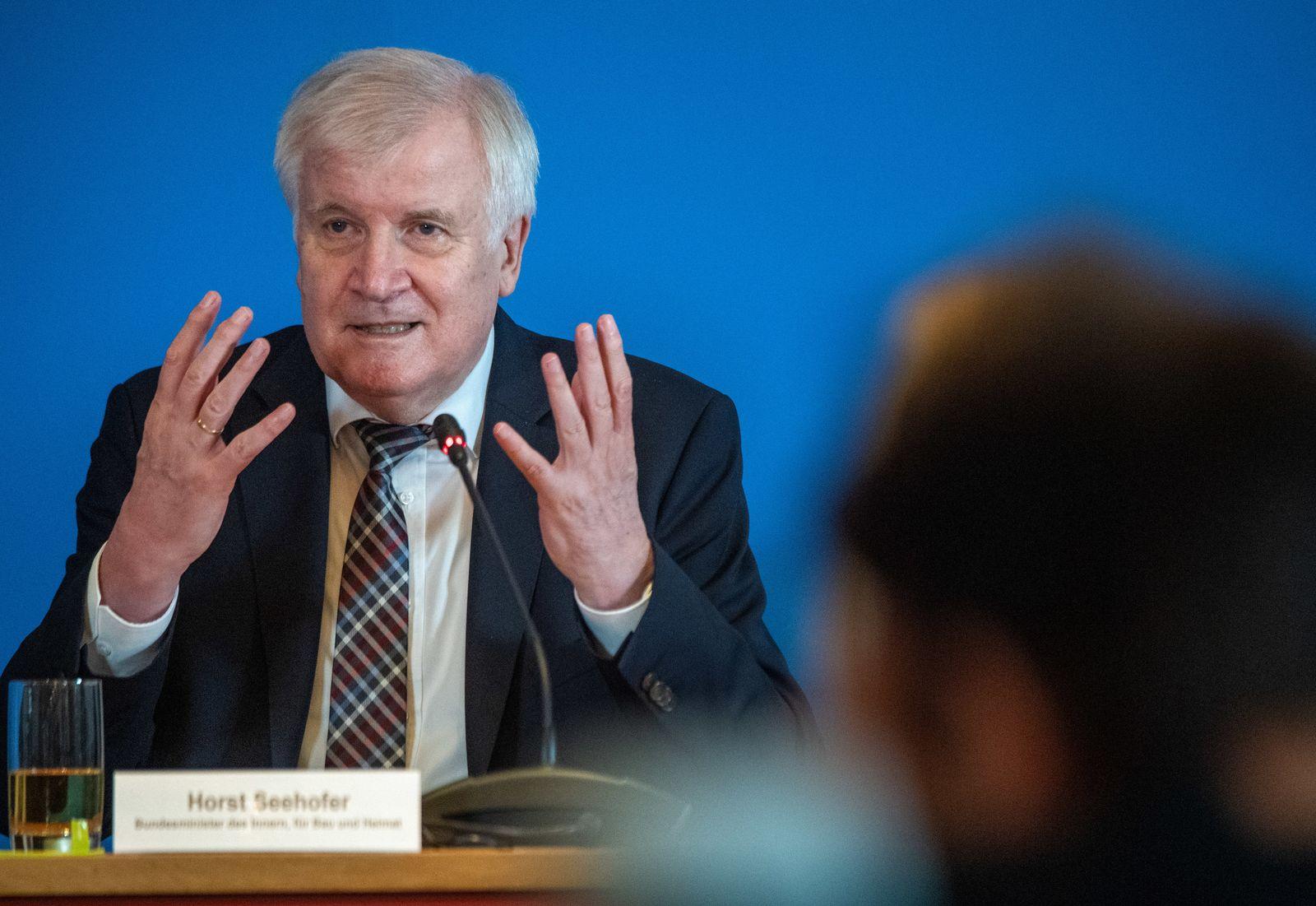 Bundesinnenminister Seehofer besucht Mecklenburg-Vorpommern