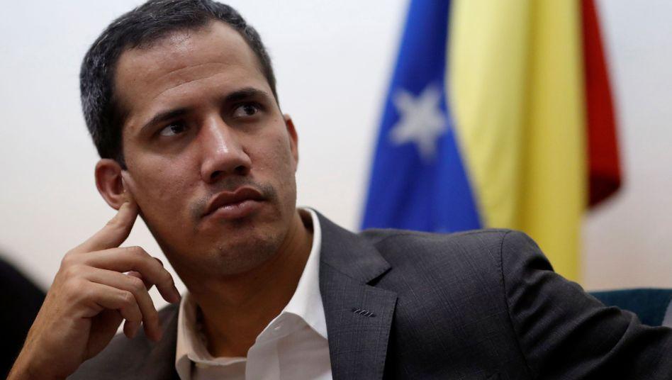 Venezuelas Oppositionsführer Juan Guaidó: Ein Jahr Machtkampf gegen Maduro