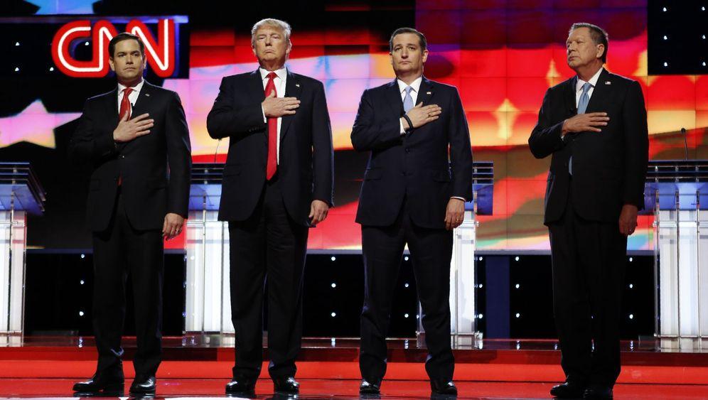 """TV-Debatte der US-Republikaner: """"Lasst uns schlau sein"""""""