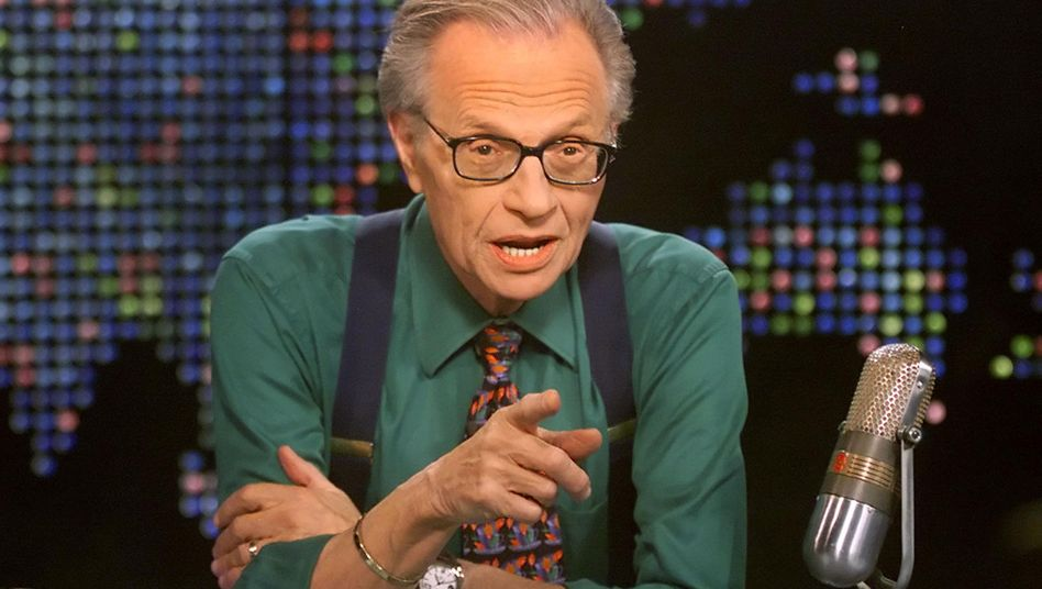 »Warum?« CNN-Talker Larry King