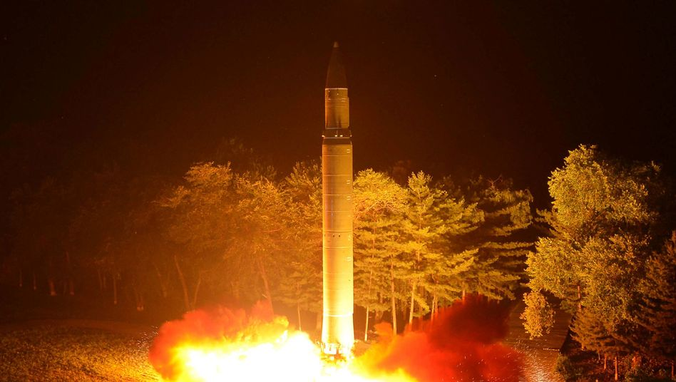 Raketenstart in Nordkorea, Ende Juli