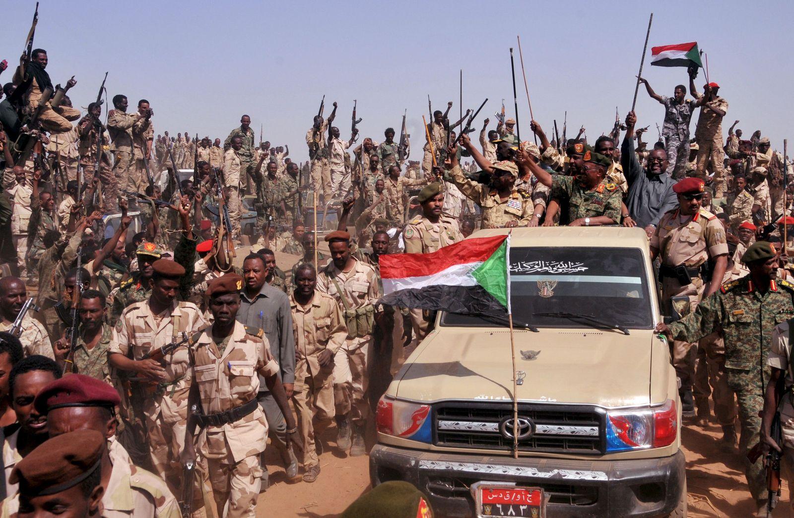 Sudan / Omar Hassan al-Bashir / SAF / RSF