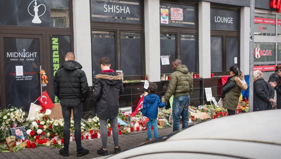 Gedenkstellen am Hanauer Tatort