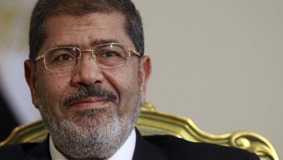 "Mohammed Mursi (Archivbild): ""Der Präsident will Fakten schaffen"""
