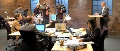 """JobTV24-Studio: Ein Backsteinstudio und Seemannspullis für die """"lockere Atmosphäre"""""""