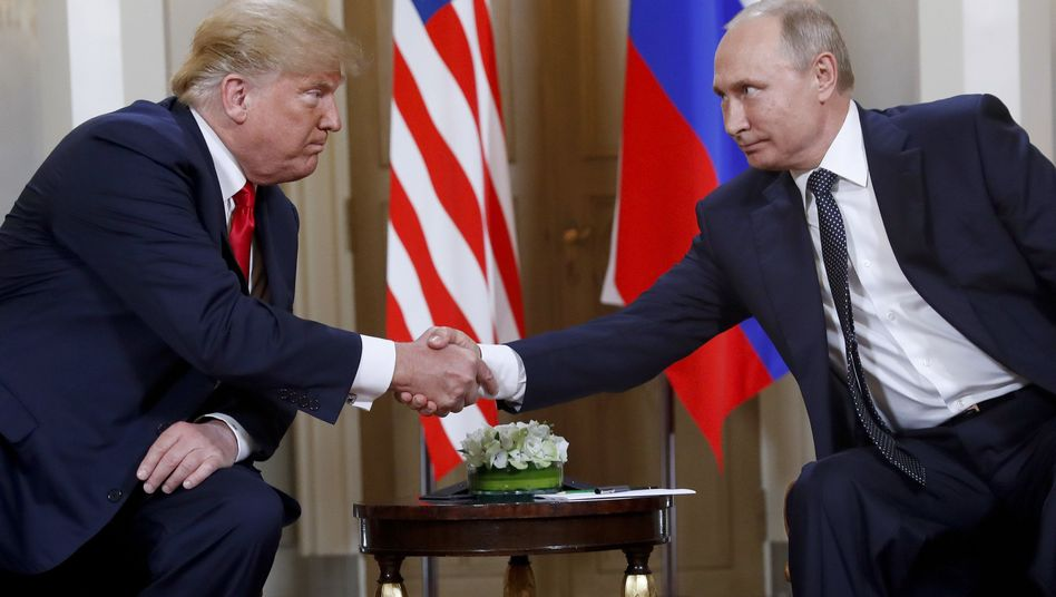 Donald Trump und Wladimir Putin in Helsinki