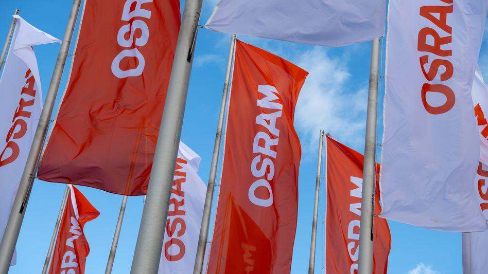 Osram-Flaggen in München (Archiv)