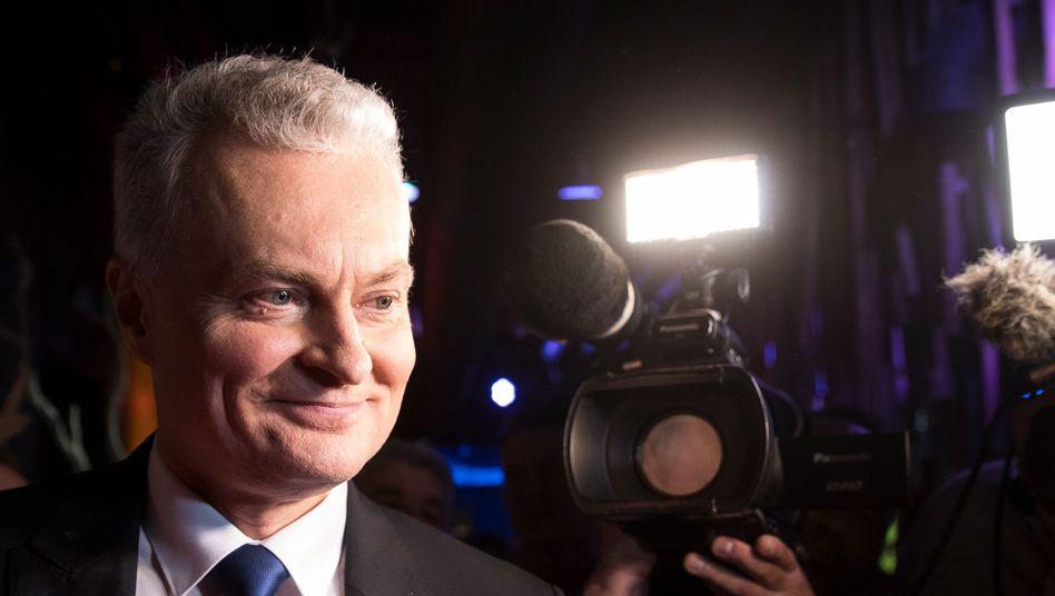 Gitanas Nauseda: Am 12. Juli wird er sein Amt als neuer Präsident Litauens antreten