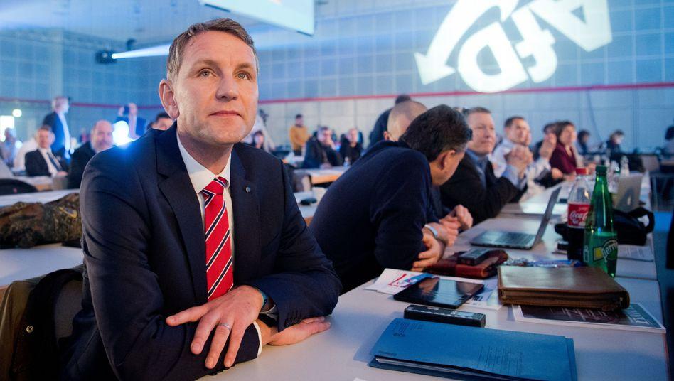 Björn Höcke, AfD-Fraktionsvorsitzender in Thüringen