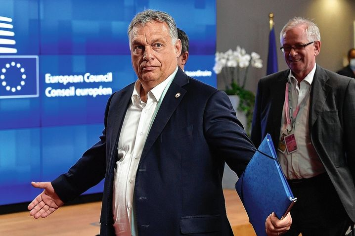 Hungarian Prime Minister Viktor Orbán: Posing as the true defender of Christian Europe