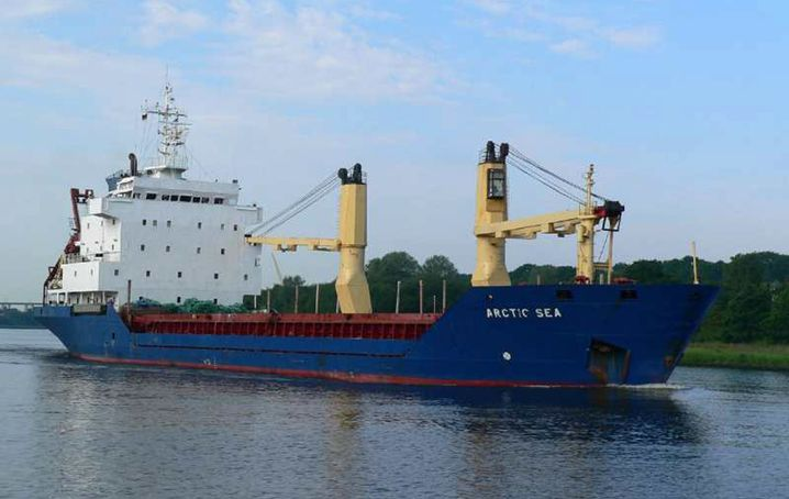 """""""Arctic Sea"""": Ist der Frachter in den Händen von Piraten?"""