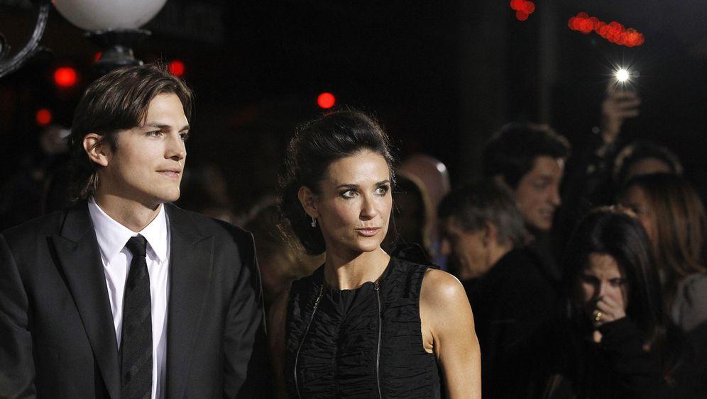 Demi Moore und Ashton Kutcher: Ein Glamour-Paar trennt sich