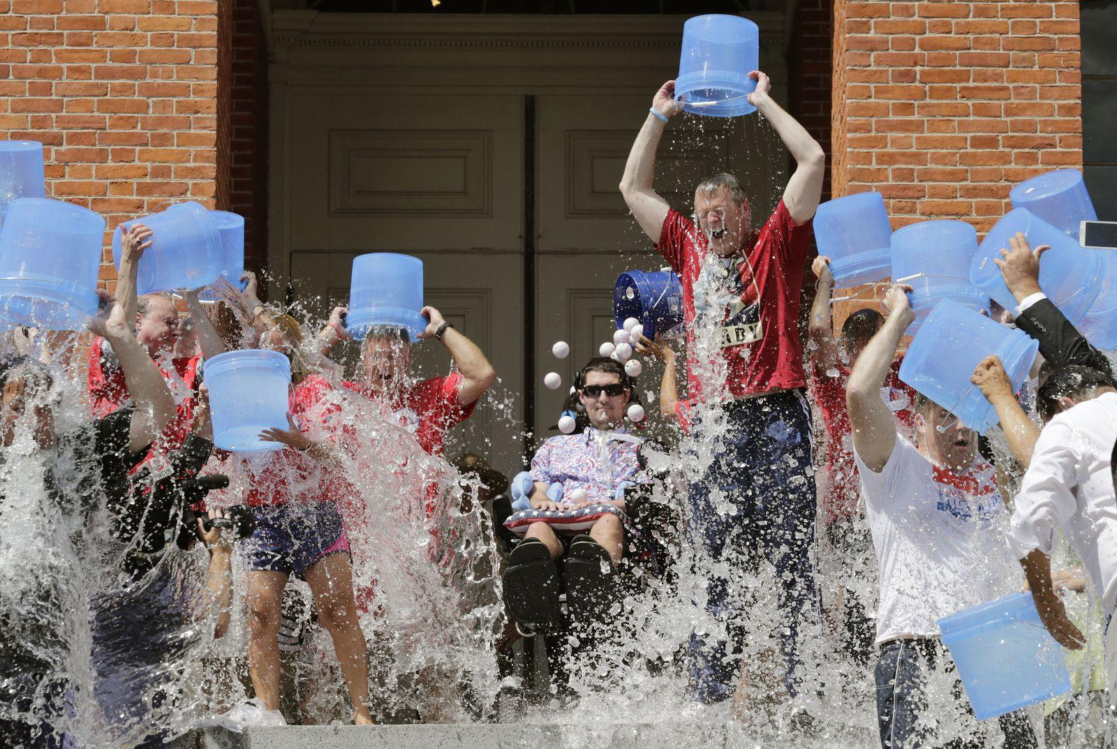 Baker Ice Bucket Challenge