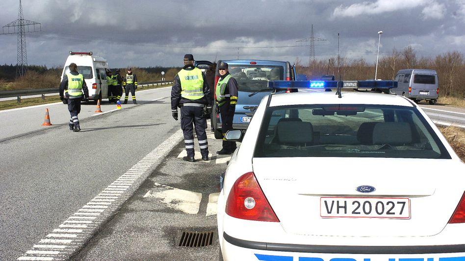 Polizeikontrolle in Dänemark: Zu viel Bier am Steuer kann das Auto kosten