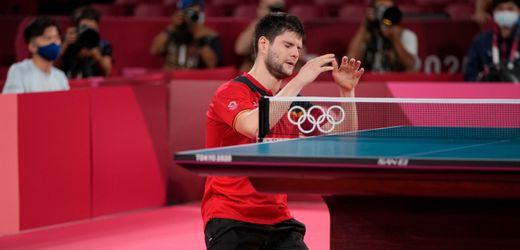 Dimitrij Ovtcharov holt Bronze: Das glückliche Ende der zweiten Tischtennis-Nervenschlacht