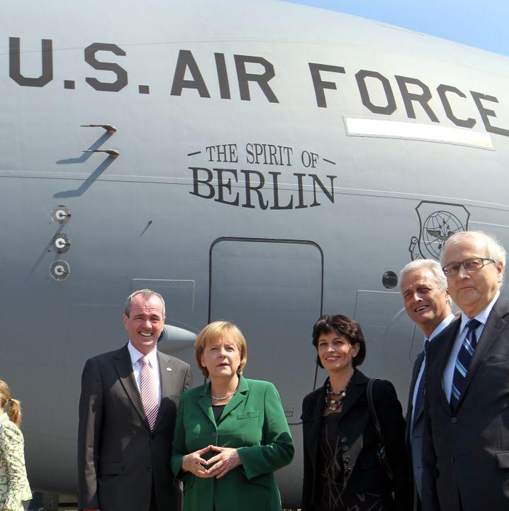 Philip Murphy, Angela Merkel (Archiv)