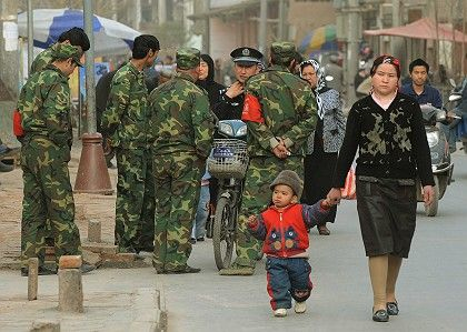 Kashgar, China: The Chinese government has launched its own war on terror against Uighur separatists.