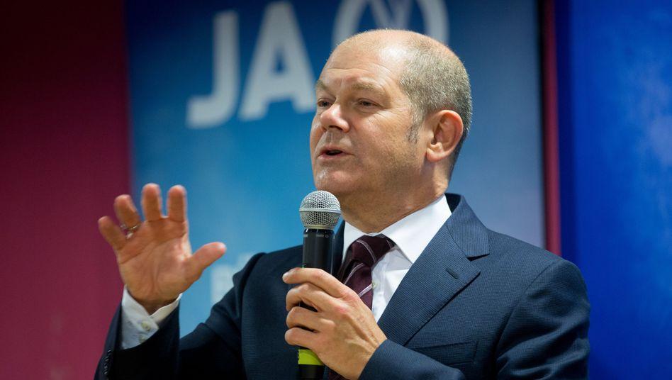 Hamburgs Erster Bürgermeister Scholz: Keine Schulden für Olympia