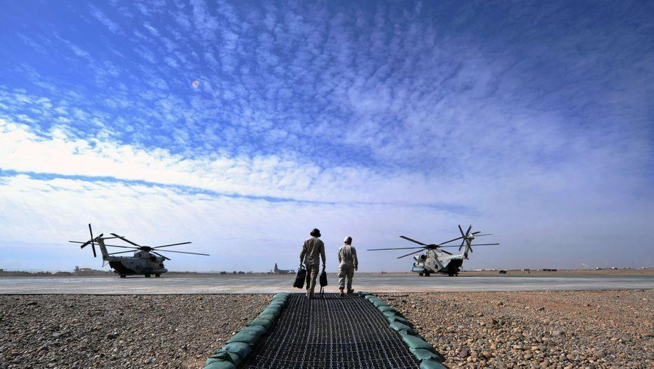 US-Marines in der Helmand-Provinz: Neue Ansage des Commander-in-Chiefs