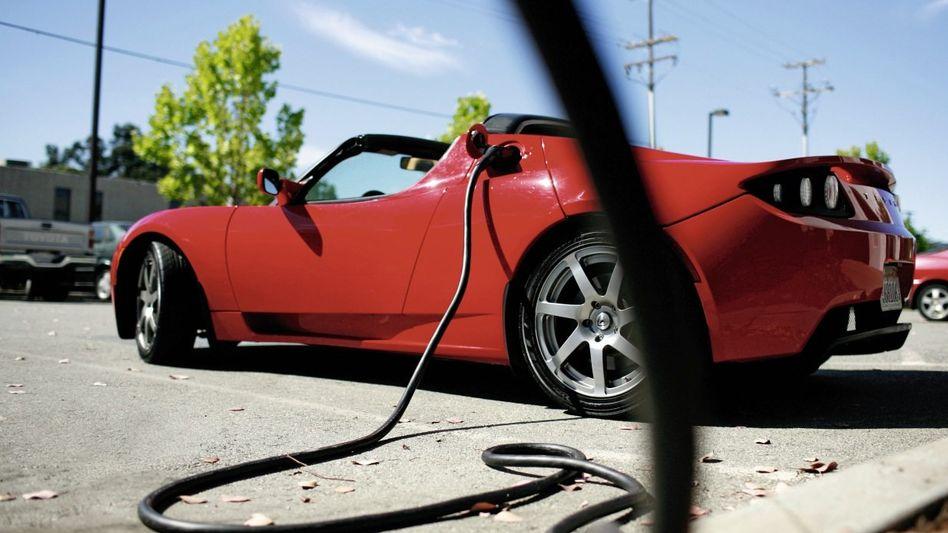 Tesla Roadster: unkomplizierter Antrieb Tesla Roadster: unkomplizierter Antrieb