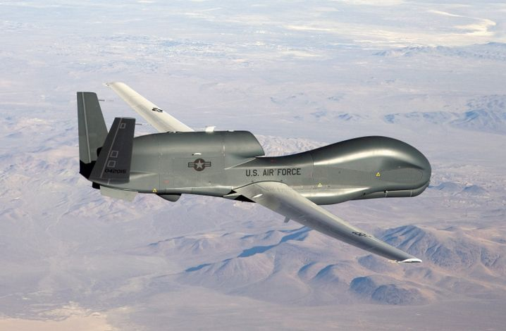 "US-Drohne ""Global Hawk"": Gezügelte Rhetorik"