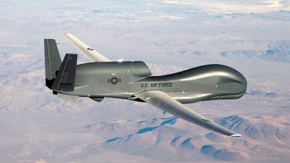 """Drohne """"Global Hawk"""": Noch fehlt die Zulassung"""