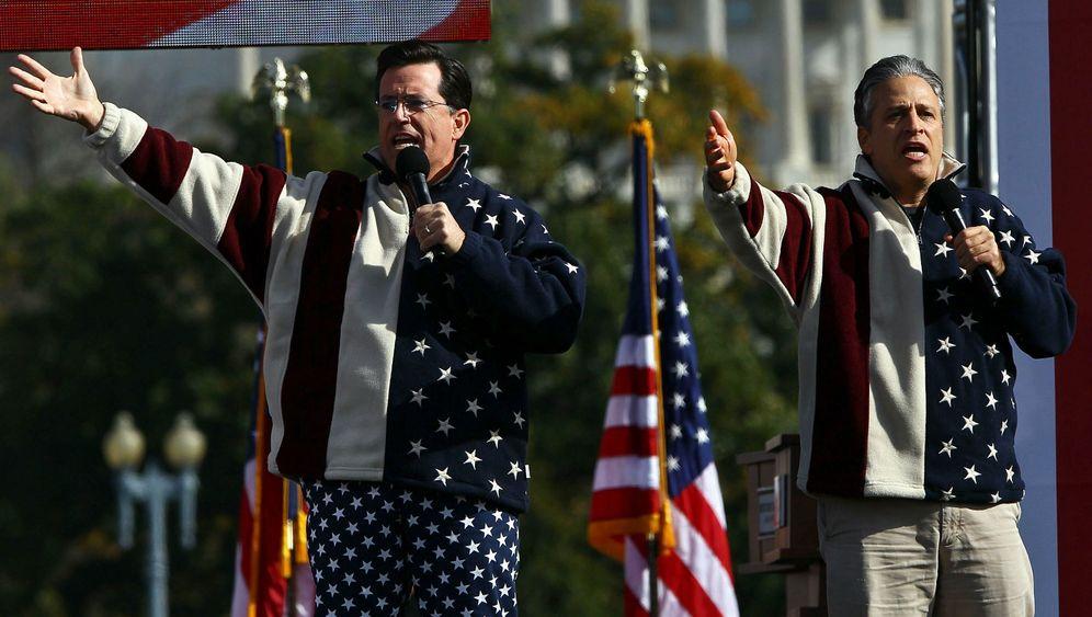 Frustprotest in Washington: Parade der Spaßvögel
