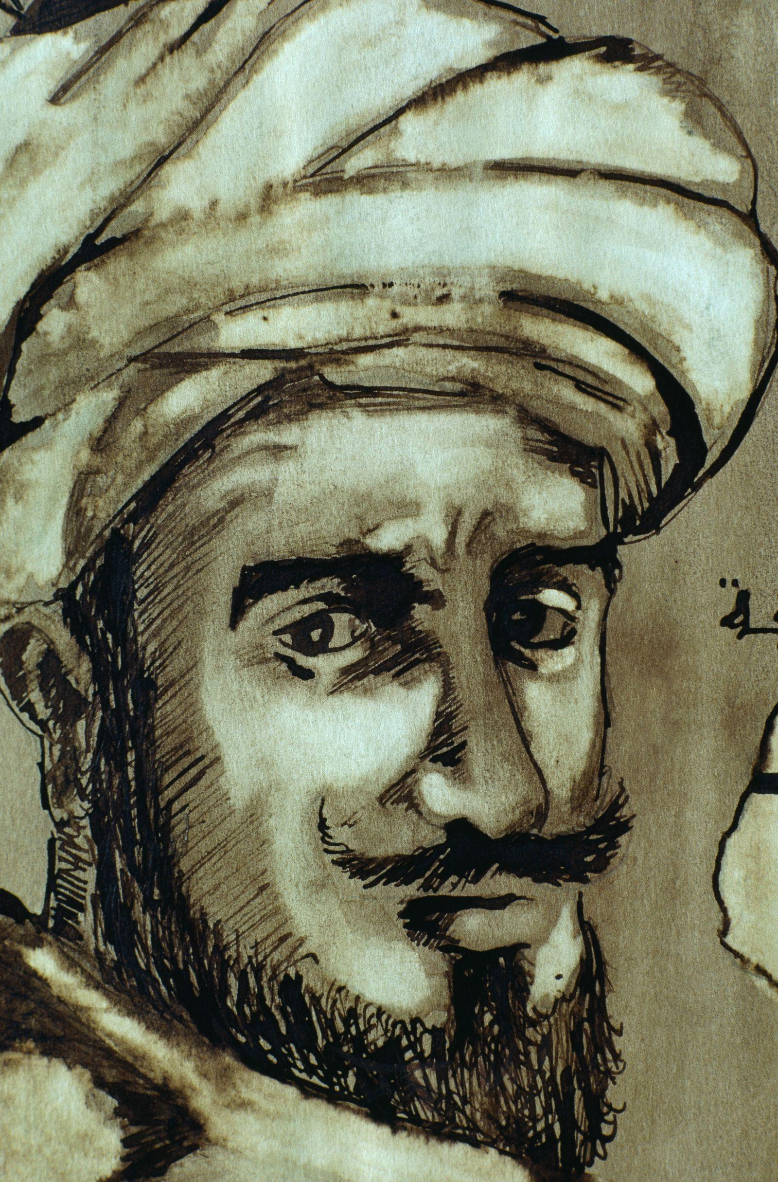 EINMALIGE VERWENDUNG Ibn Battuta / Potrait