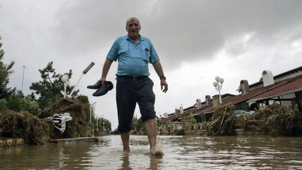 Überschwemmungen: Land unter in der Türkei