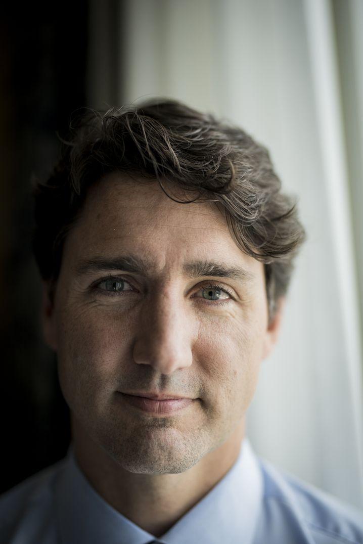 """Regierungschef Trudeau: """"Die Interessen Kanadas verteidigen"""""""