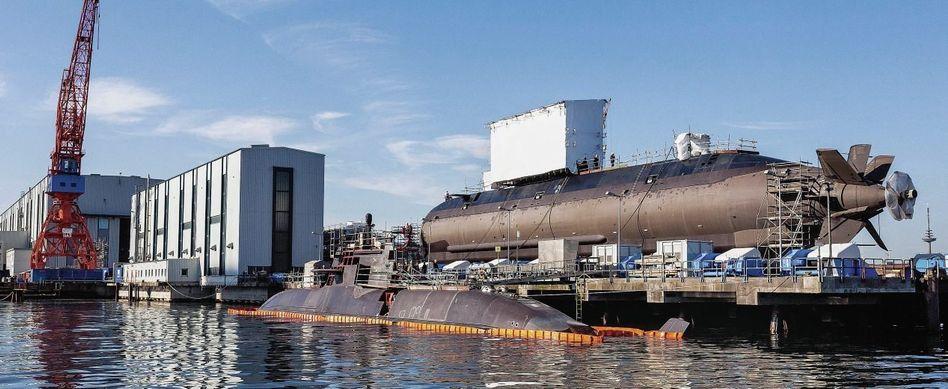 U-Boot-Bau bei HDW in Kiel