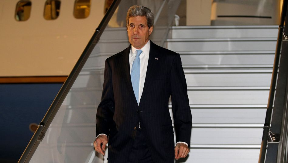 US-Außenminister Kerry landet in Genf: Keine großen Hoffnungen