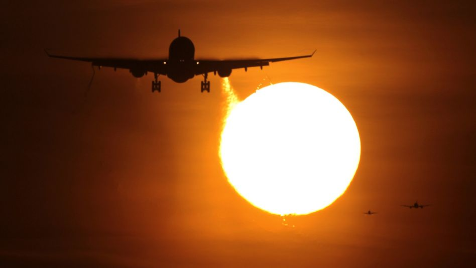 Planes taking off and landing in Europe must now pay for their emissions.