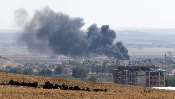 Kampf um Kobane: Terror an der türkischen Grenze