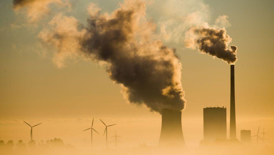 Kohlekraftwerk Mehrum in Niedersachsen (2015)