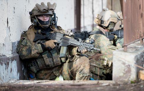 Bundeswehrsoldaten des KSK