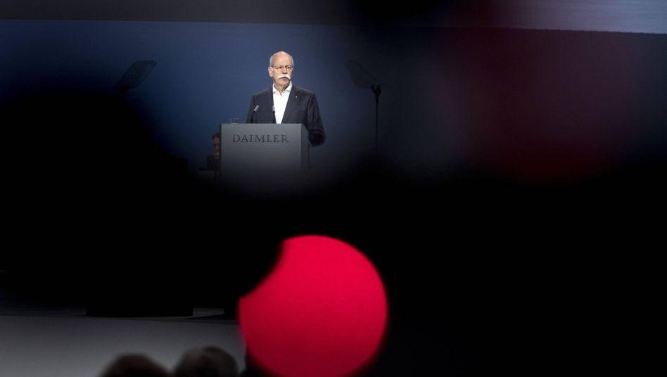 Daimler-Chef Dieter Zetsche