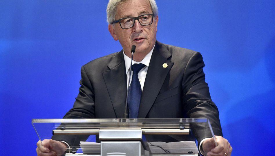 EU-Kommissionspräsident Juncker: Geheime Seite aufgetaucht