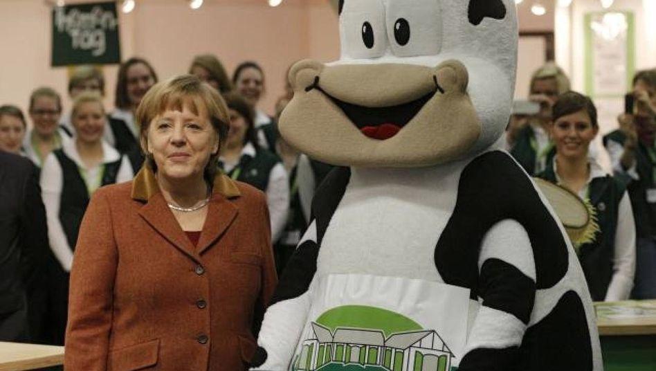 Merkel auf der Grünen Woche
