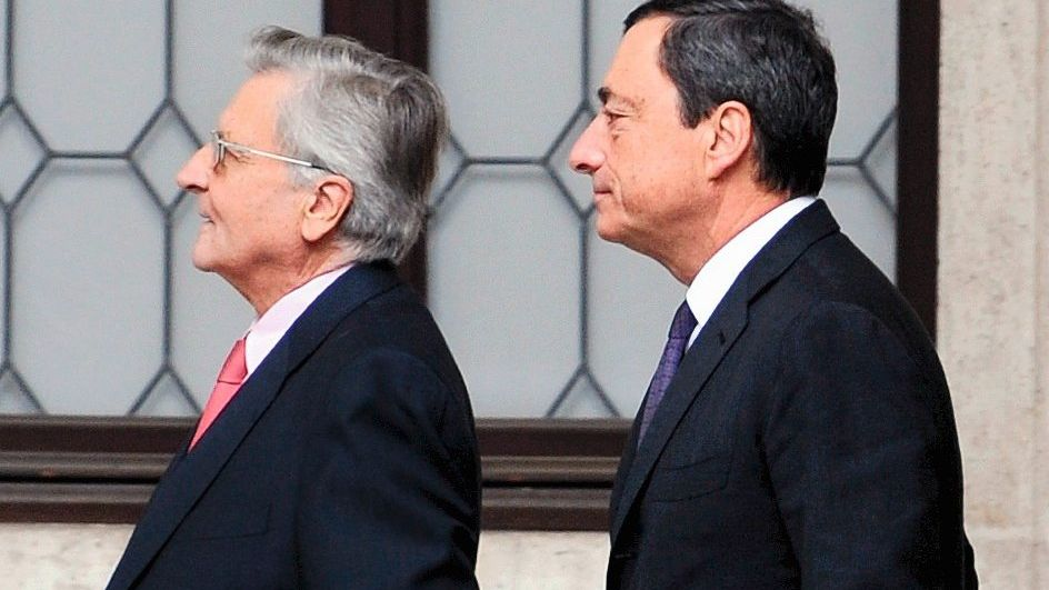 Trichet, Draghi