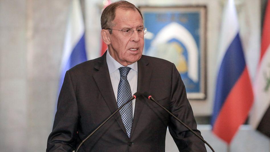 Diplomatische Krise zwischen Berlin und Moskau spitzt sich offenbar zu: Russlands Außenminister Sergej Lawrow