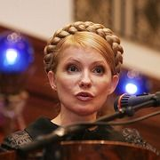 "Former Ukrainian Prime Minister and revolution heroine Yulia Timoshenko: ""Everyone has a skeleton in their closet."""