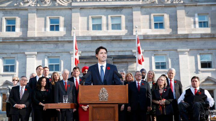 Regierung: Cool, cooler, Kanada