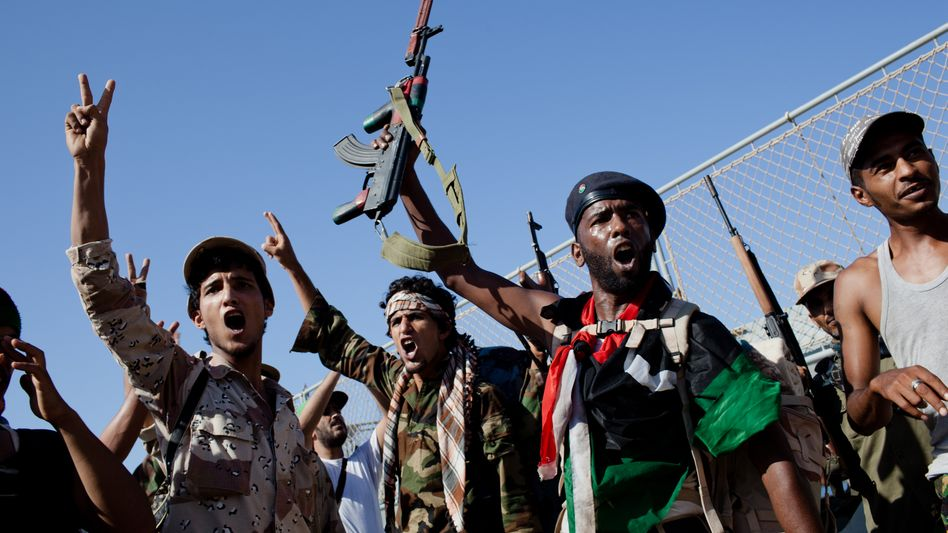 """Libysche Rebellen in Tripolis: """"Entschieden und militärisch handeln"""""""