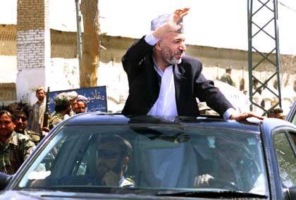 Herrscher eines zerrissenen Landes: Hamid Karzai in Kandahar